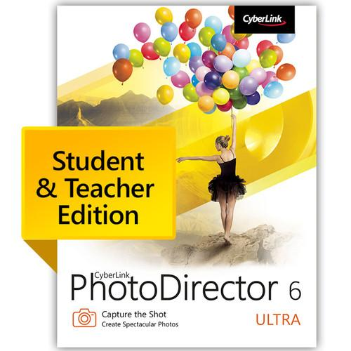 CyberLink PhotoDirector 6 Ultra PTD-0600-IWU0-00-EDU