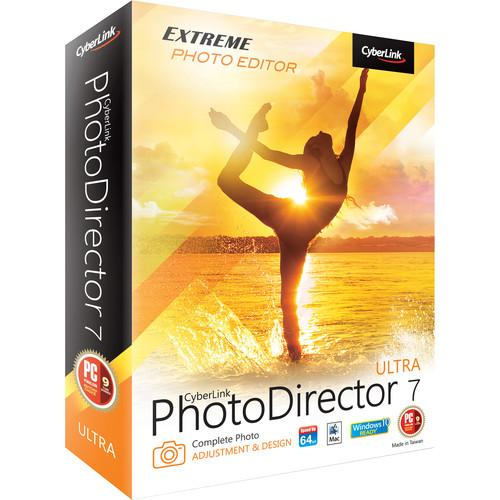 CyberLink PhotoDirector 7 Ultra (DVD) PTD-E700-RPU0-00