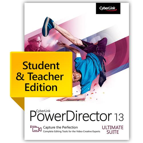CyberLink PowerDirector 13 Ultimate PUS-0D00-IWM0-00-EDU