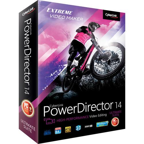 CyberLink PowerDirector 14 Ultimate Suite PUS-EE00-RPM0-00