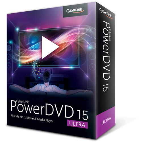 CyberLink  PowerDVD 15 DVD-0F00-IWU0-00