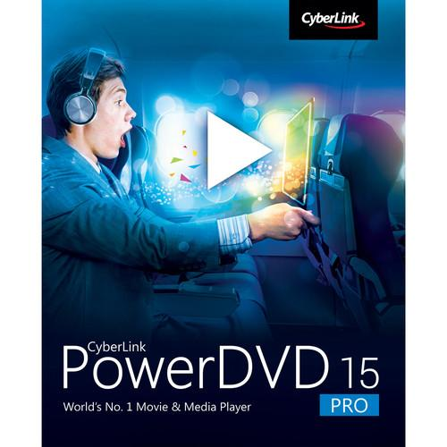 CyberLink PowerDVD 15 (Pro Edition, Download) DVD-0F00-IWR0-00