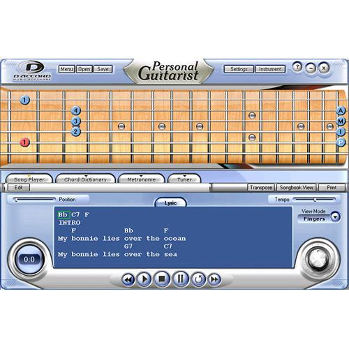 D'Accord Music Software Personal Guitarist PERSONALGUITAR