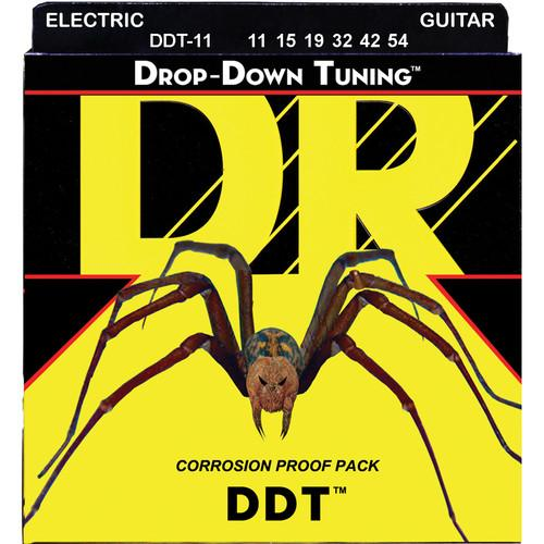 DR Strings DDT - Drop-Down Tuning - Electric Guitar DDT-11