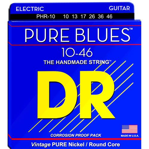 DR Strings Pure Blues Nickel Electric Guitar Strings PHR-10