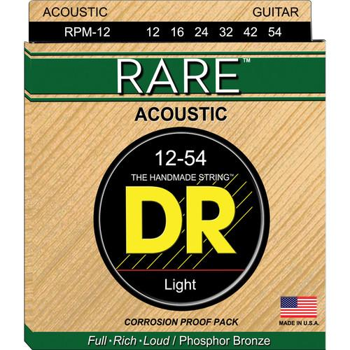 DR Strings Rare Phosphor Bronze Acoustic Guitar Strings RPM-12
