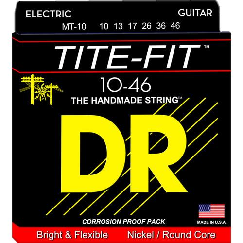 DR Strings Tite Fit - Electric Guitar Strings MT-10