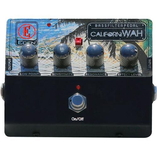 Eden Amps CalifoniWAH Bass Filter Pedal CALIWAH-U