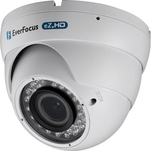 EverFocus 720p Analog HD Indoor/Outdoor IR Ball Camera EBD935W