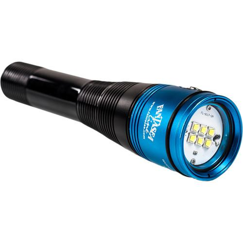 Fantasea Line Radiant 2500 Video LED Dive Light 6045