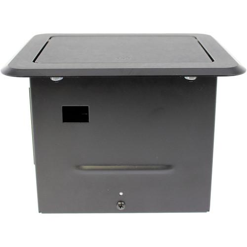 FSR Table Box with 2 AC and 2 USB Charging Ports TB-CHRG-BLK