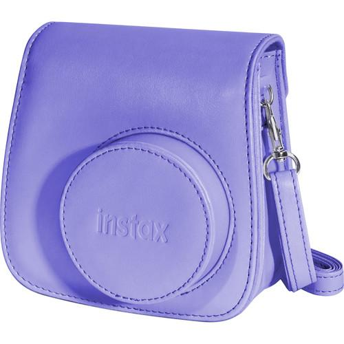 Fujifilm Groovy Case for instax mini 8 Camera (Grape) 600015377