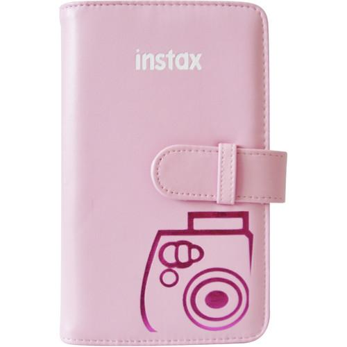 Fujifilm Mini Series Wallet Album (Pink) 600015572