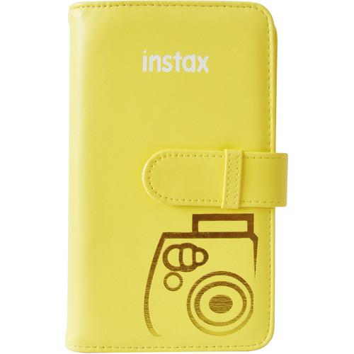 Fujifilm Mini Series Wallet Album (Yellow) 600015560
