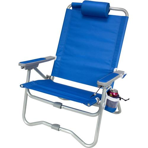 GCI Outdoor Bi-Fold Beach Chair (Saybrook Blue) 64083