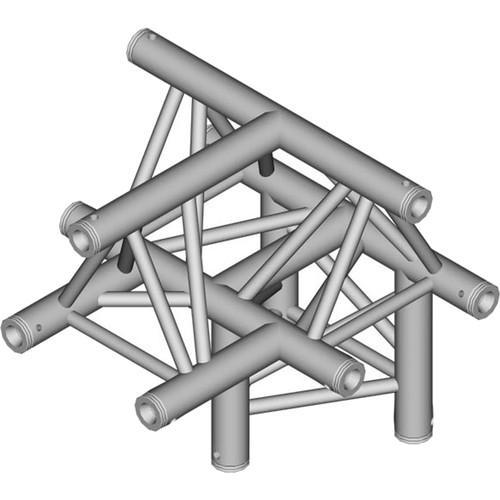 Global Truss 1.64' 4-Way Triangular T-Junction Apex Up TR-4097U