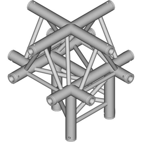 Global Truss 1.64' 5-Way Triangular Cross-Junction Apex TR-4101U