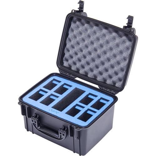 Go Professional Cases Hard Case for Eight DJI GPC-INSP-BTRY-1