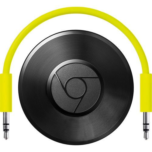 Google Chromecast Audio (Black) GA3A00147-A14-Z01