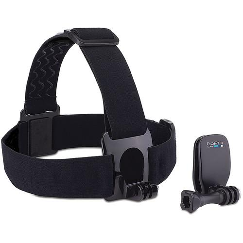 GoPro Head Strap   QuickClip with 32GB UHS-I microSDHC Memory