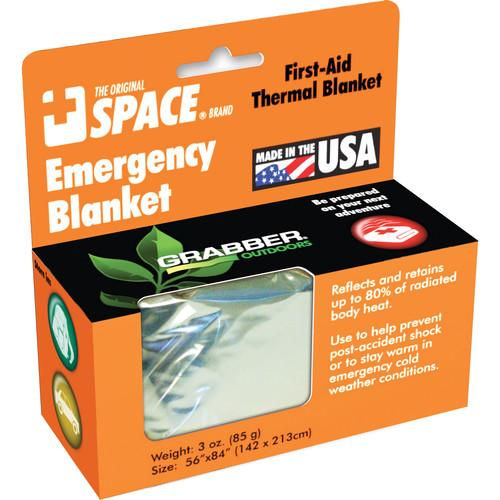 Grabber Emergency Space Blanket (Silver) 9914EBSS