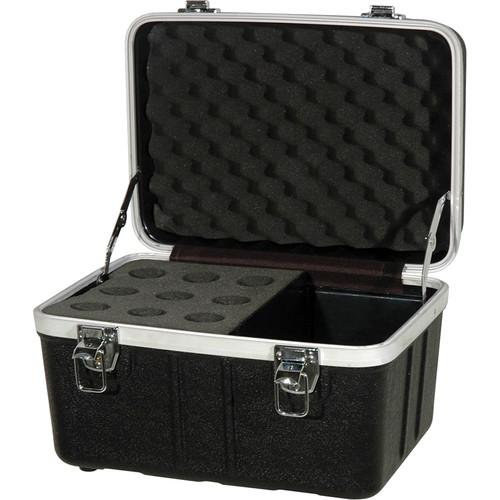 Grundorf ABS Series Microphone Case (9 Microphones) 152455