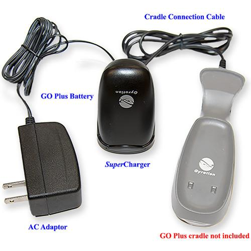 Gyration SuperCharger for Air Mouse GO Plus GYAMICBP-NA