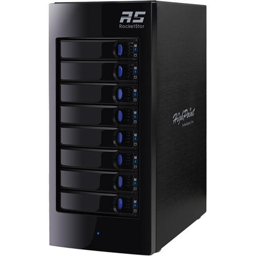 HighPoint RocketStor 6318A Eight-Bay Thunderbolt 2 RAID RS6318A