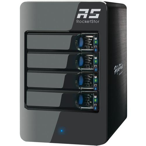 HighPoint RocketStor 6414AS Four-Bay SAS/SATA ROCKETSTOR 6414AS
