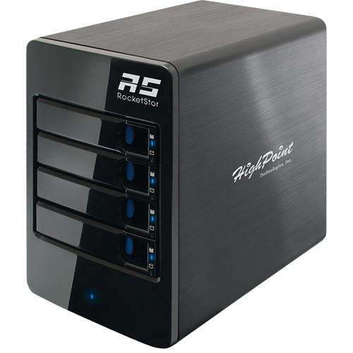 HighPoint RocketStor 6414S Four-Bay SAS/SATA ROCKETSTOR 6414S