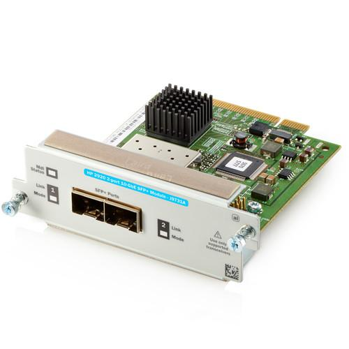 HP J9731A 2-Port 10GbE SFP  Module for HP 2920 Switch J9731A