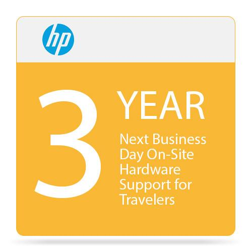 HP Next Business Day On-Site Hardware Support UQ845E