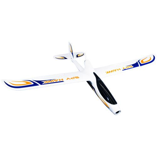 HUBSAN H301S Spy Hawk RC Airplane with FPV (White) H301S (WT)