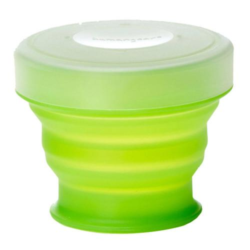 HUMANGEAR Small Collapsible GoCup (4 fl oz, Green) HG-0311