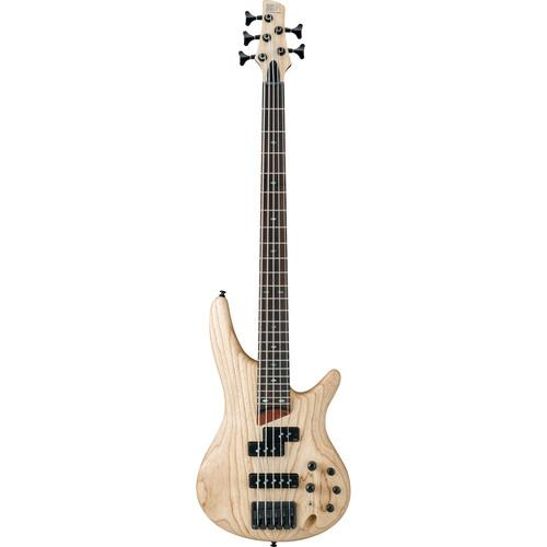 Ibanez SR Series - SR655 - 5-String Electric Bass SR655NTF
