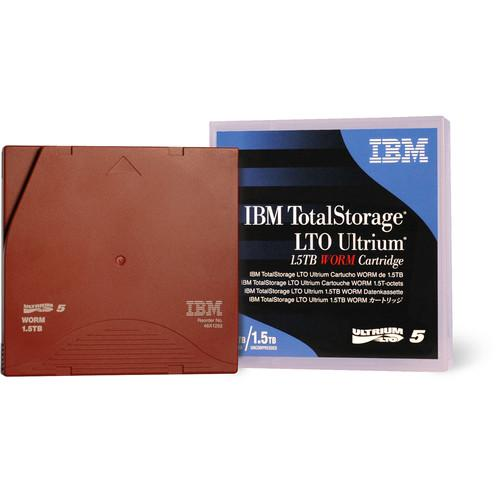 IBM LTO Ultrium 5 WORM Data Cartridge (1.5/3.0TB) 46X1292