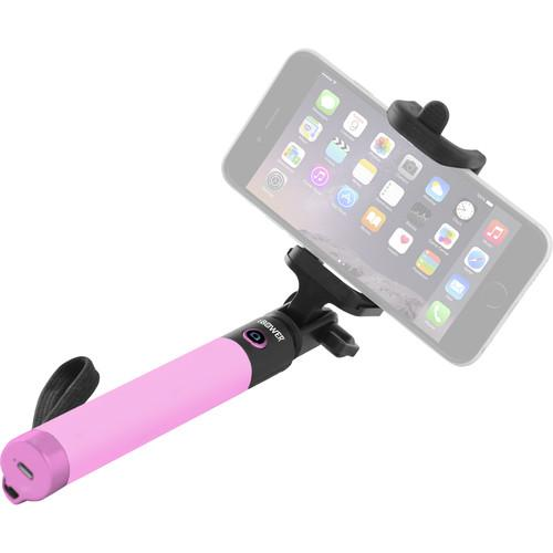 iBower Wireless TRENDi Selfie Stick (Pink) IBO-BTM36P