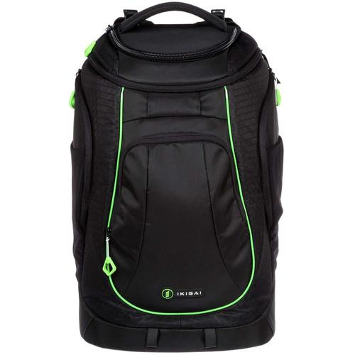 Ikigai Large Rival Backpack with Camera Cell (Black) KIT101
