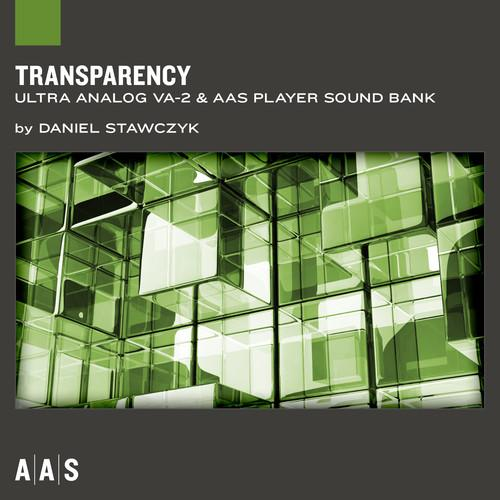 ILIO Transparency - Ultra Analog VA-2 Sound Bank AA-TRAN