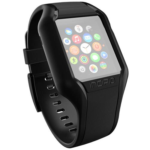 Incipio NGP Strap for Apple Watch (38mm, Black) WBND-008-BLK