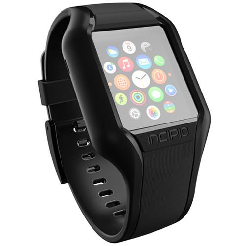 Incipio NGP Strap for Apple Watch (42mm, Black) WBND-012-BLK