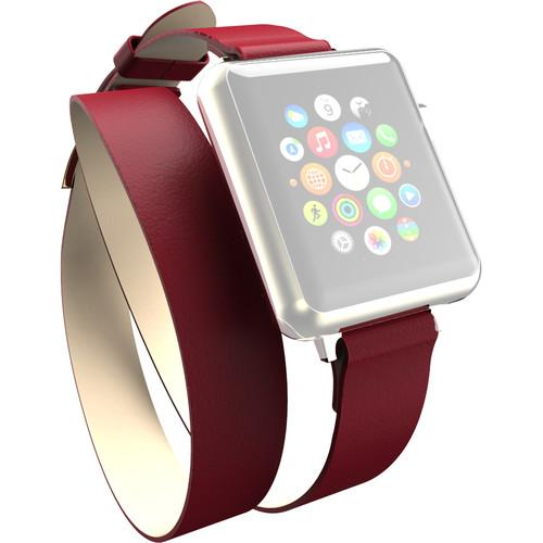 Incipio Reese Double Wrap Band for Apple Watch WBND-003-RED