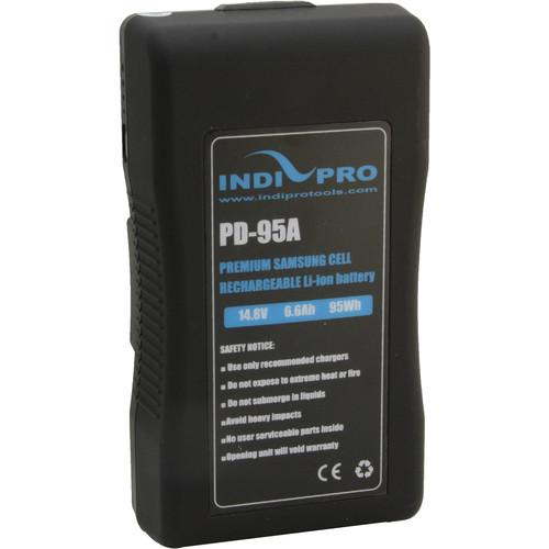 IndiPRO Tools Compact 95Wh Gold-Mount Li-Ion Battery PD95A