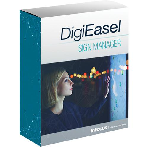 InFocus DigiEasel Sign Manager Interactive Sign INS-SIGNMGR