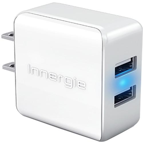 Innergie PowerJoy Plus 15W Dual USB Wall Adapter ADP-15AB AAA