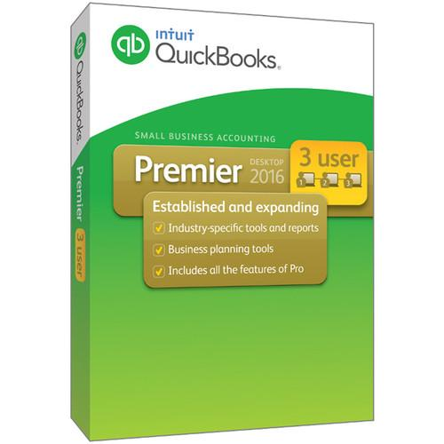 Intuit QuickBooks Premier 2016 (3-Users, Download) 426438
