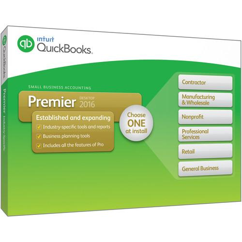 Intuit QuickBooks Premier 2016 (5-Users, Download) 427756