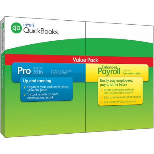 Intuit QuickBooks Pro with Enhanced Payroll 2016 426331