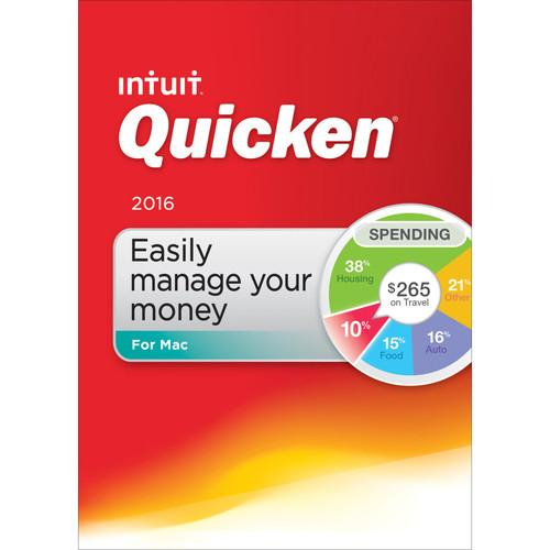 Intuit  Quicken 2016 for Mac (Boxed) 426739