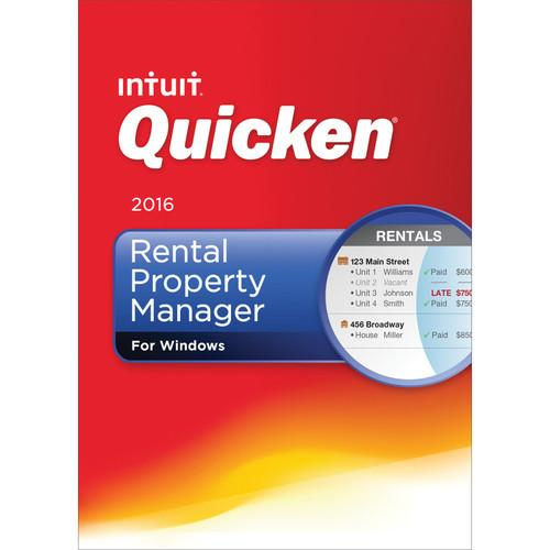 Intuit Quicken 2016 Rental Property Manager (Boxed) 426780